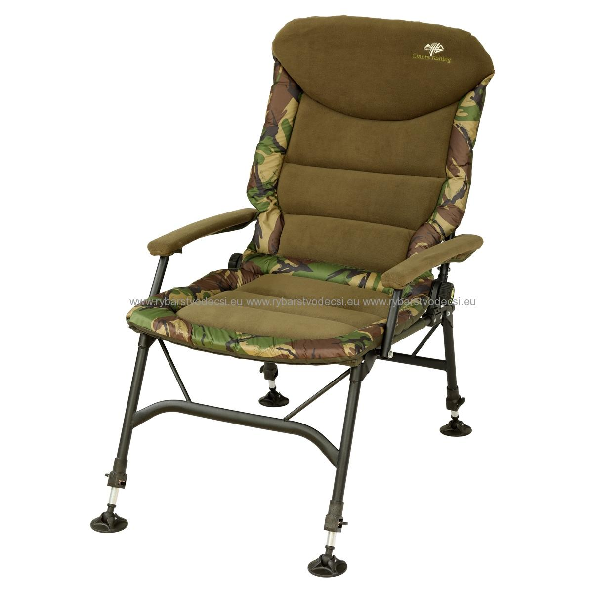 GIANTS FISHING KRESLO RWX LARGE CAMO CHAIR