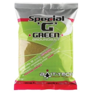 Bait-Tech Groundbaits Special-G Green 1kg