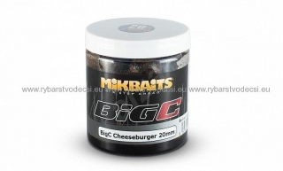Mikbaits Boilies v dipe BigC Cheeseburger  250ml