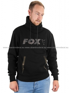Fox Mikina Black Camo High Neck